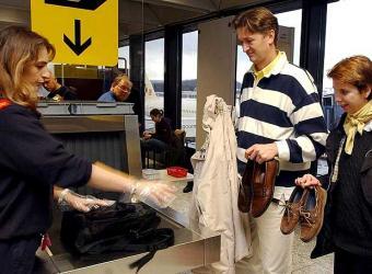 Medidas de Seguridad en los Aeropuertos  de la CEE