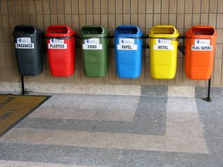 El reciclaje ausente