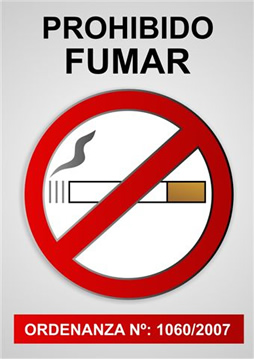 Desde el hospital les digo !!dejen de fumar¡¡