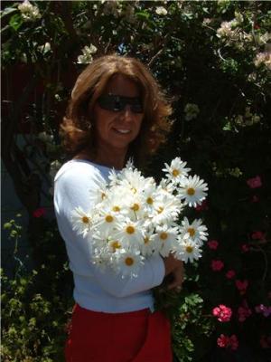 Flores y un saludo para todos