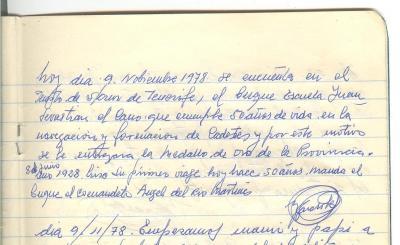 """50 Años del """"Juan Sebastian el Cano"""" (Las letras de mi padre)"""