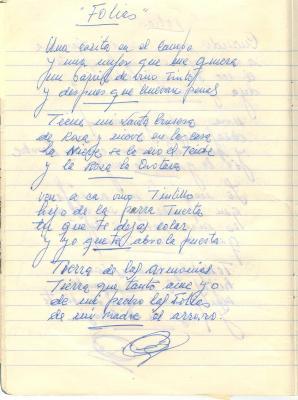 Las folias que cantaba mi padre (2)