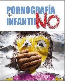 NO, A LA PORNOGRAFIA INFANTIL